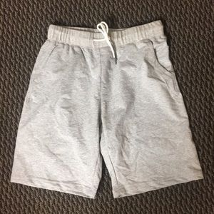 Gray Sweat Shorts athletic mens medium